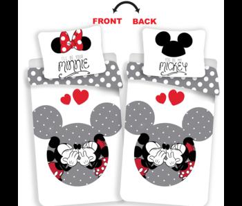 Disney Minnie Mouse Bettbezug Dein Minnie / Mickey 140 x 200 cm