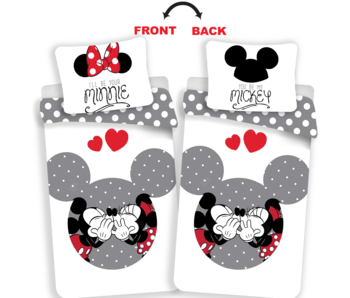 Disney Minnie Mouse Housse de couette Your Minnie / Mickey 140 x 200 cm