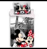 Disney Minnie Mouse New York - Bettbezug - Single - 140 x 200 cm - Polyester