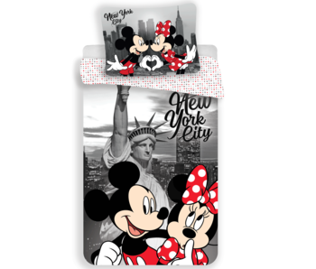 Disney Minnie Mouse Dekbedovertek New York 140 x 200 cm