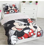 Disney Minnie Mouse New York - Housse de couette - Simple - 140 x 200 cm - Polyester