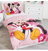 Disney Minnie Mouse Ich liebe dich - Bettbezug - Single - 140 x 200 cm - Polyester