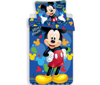 Disney Mickey Mouse Dekbedovertek Smile 140 x 200 cm
