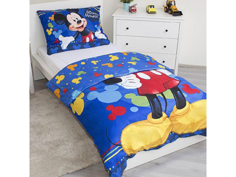 Disney Mickey Mouse Smile - Housse de couette - Simple - 140 x 200 cm - Polyester