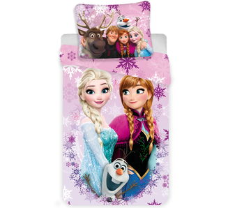 Disney Frozen Housse de couette 3 Friends 140x200cm + 70x90cm