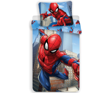 Spider-Man Bettbezug City 140 x 200 cm