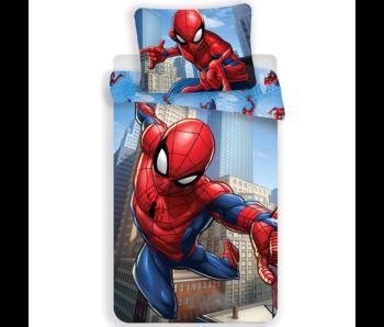 SpiderMan Bettbezug City 140 x 200 cm