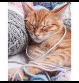 Animal Pictures Couverture en flanelle douce, chat - 120 x 150 cm - Multi