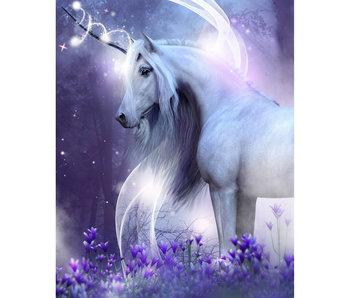 Unicorn Couverture en flanelle douce 120 x 150 cm