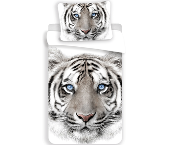 Animal Pictures Housse de couette White Tiger 140x200 cm