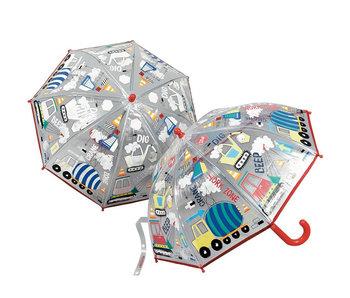 Floss & Rock Kleurveranderende Paraplu Bouw