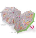 Floss & Rock Eulen und Bäume - Regenschirm - Ändert die Farbe!