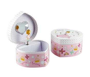 Floss & Rock Princess Jewelry box - 15 x 13 x 9 cm