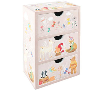 Floss & Rock Chest of drawers Forest 16 x 11 x 7 cm