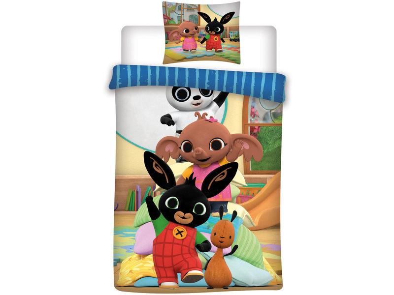 Bing Bunny - Bettbezug - Einzel - 155 x 200 cm - Multi