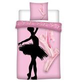 Ballet Housse de couette de danse - Simple - 140 x 200 cm - Polyester