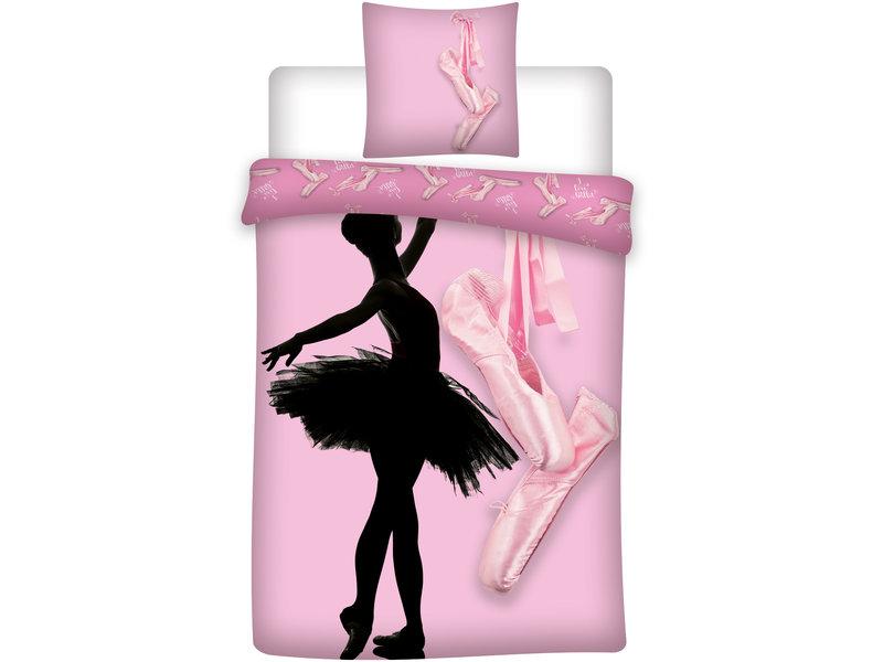 Ballet Dance Dekbedovertrek - Eenpersoons - 140 x 200 cm - Polyester