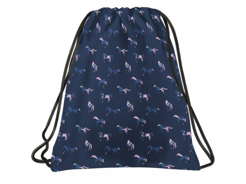 Animal Pictures Gymbag Pferde - 46 x 33,5 cm - Blau