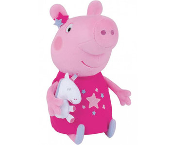 Peppa Pig Kuscheltier Einhorn 25 cm