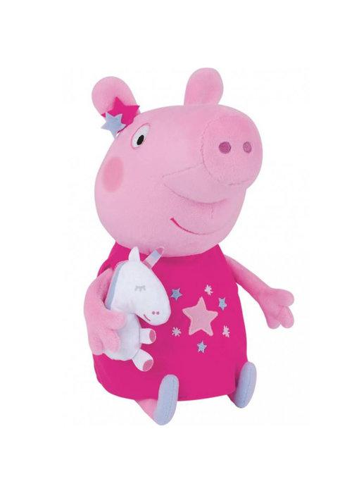 Peppa Pig Knuffel Unicorn 25 cm