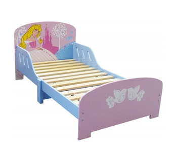 Disney Princess Toddler bed 70x140cm including slatted base