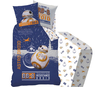Star Wars BB8 - Duvet cover - Single - 140 x 200 - Including fitted sheet