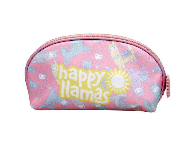 Lama Happy Lama - Kulturbeutel - 21 x 14 x 5 cm - Multi