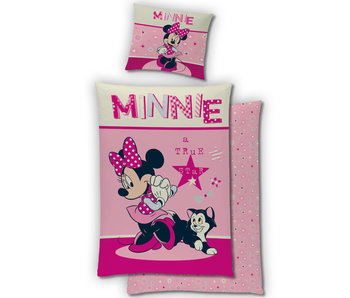 Disney Minnie Mouse Bettbezug Flanell 140 x 200 cm