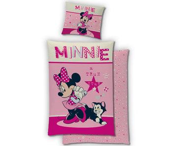Disney Minnie Mouse Dekbedovertek Flanel 140 x 200 cm