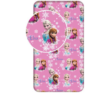 Disney Frozen Fitted sheet Sisters 90 x 200 cm