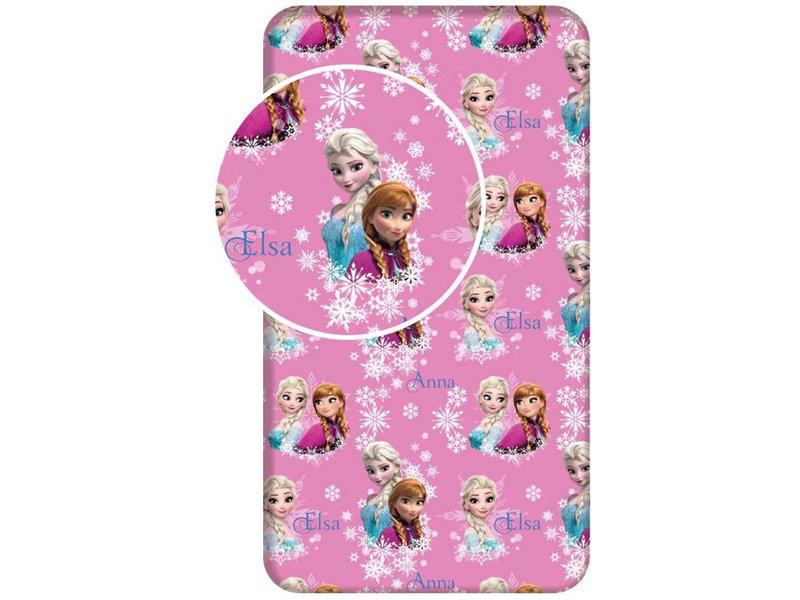 Disney Frozen Spannbetttuch Sisters - Single - 90 x 200 cm - Multi