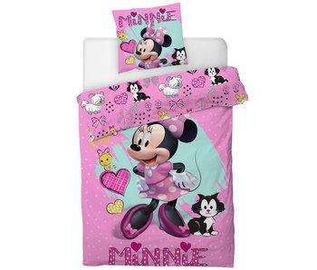 Disney Minnie Mouse Dekbedovertek 140 x 200 cm