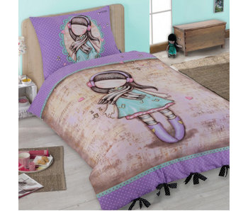 Santoro London  Gorjuss Lost in Music Duvet cover - 140 x 200 cm