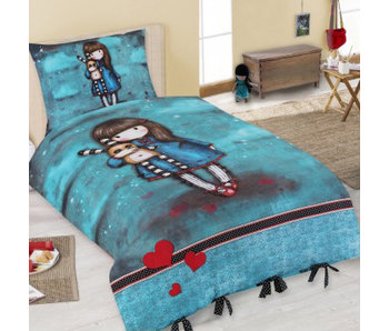Santoro London  Gorjuss Hash Little Bunny Dekbedovertrek - 140 x 200 cm