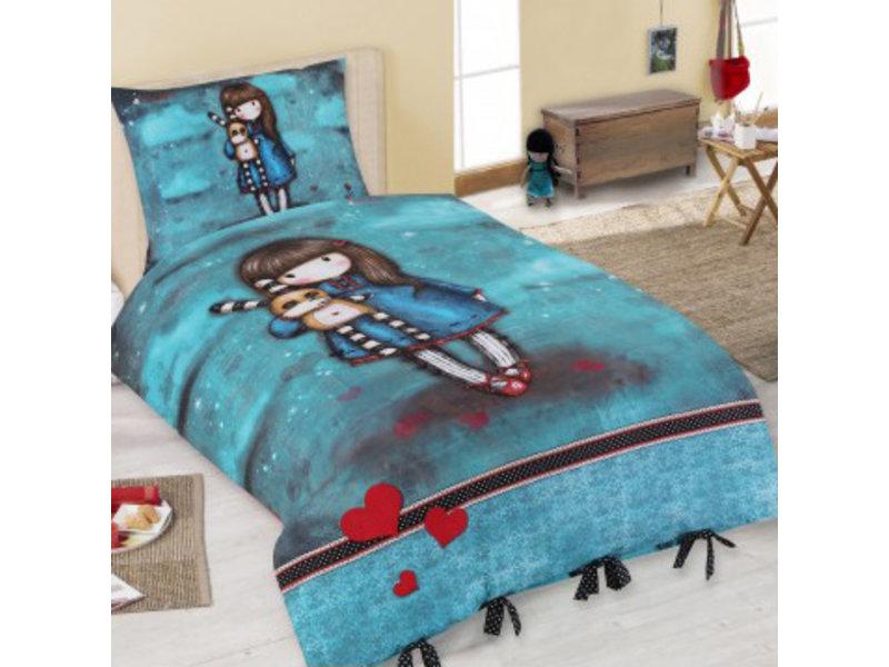 Santoro London  Gorjuss Hash Little Bunny Bettbezug - Single - 140 x 200 cm - Multi