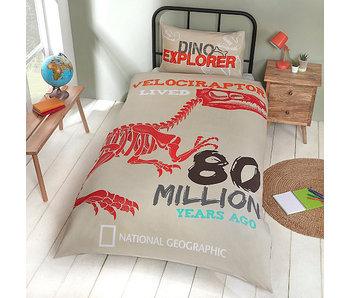 National Geographic Duvet cover Dino Explorer Single