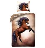 Animal Pictures Paarden Dekbedovertrek - Eenpersoons - 140 x 200 cm - Multi