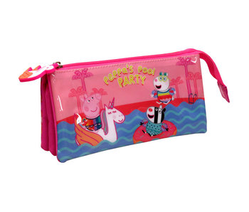 Peppa Pig Etui Pool Party 22 cm