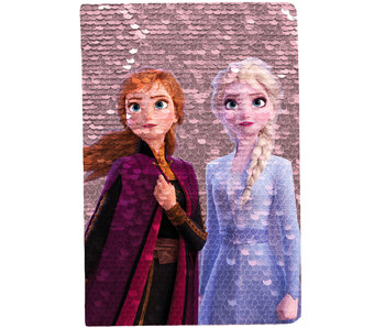 Disney Frozen Notebook A5 magic sequins