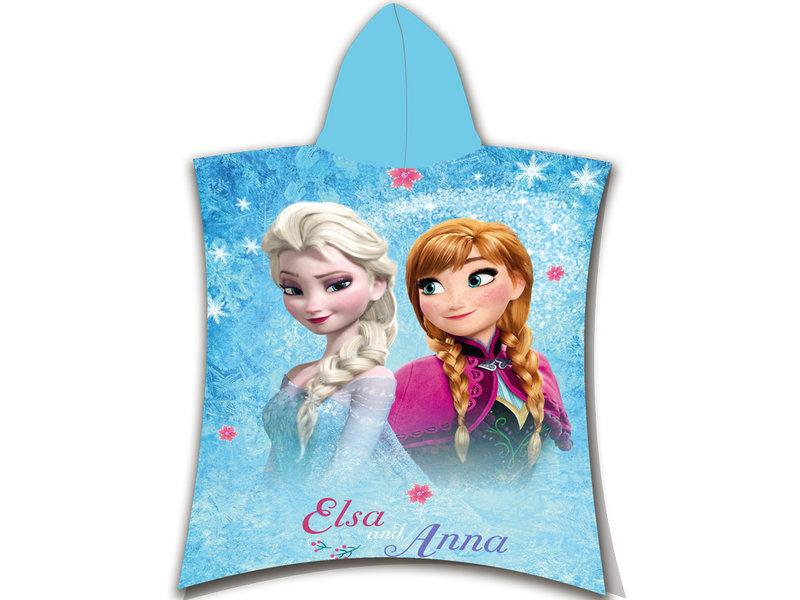 Disney Frozen Poncho Glitter - 50 x 115 cm - Coton