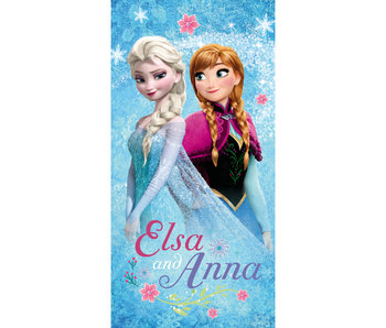 """Disney Frozen Strandlaken """"Glitter"""" 70 x 140 cm"""