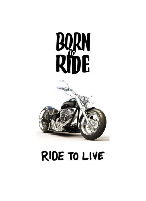 Motor Born to Ride beach towel 70 x 140 cm