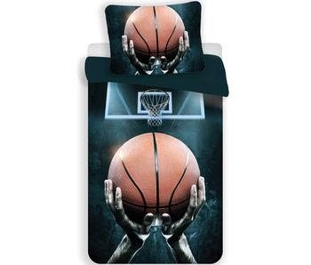 Basketbal Dekbedovertrek 140 x 200 cm - Katoen