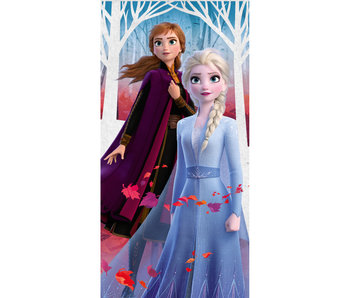 Disney Frozen Strandlaken Blätter 70 x 140 cm
