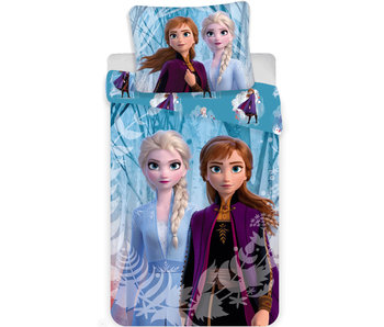 Disney Frozen Dekbedovertrek Snowflake 140 x 200 cm