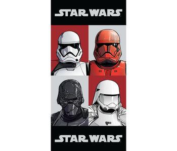Star Wars Serviette de plage Check 70 x 140 cm