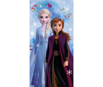 Disney Frozen Snowflake beach towel 70 x 140 cm