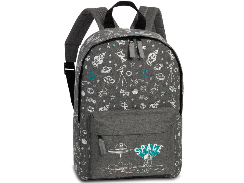 Fabrizio Backpack - Space - 36 x 25 x 12 cm - Gray