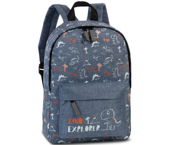 Fabrizio Dino Explorer Denim backpack 36 cm