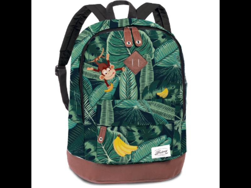 Bestway Toddler backpack Monkey - 29 x 21 x 13 cm - Green